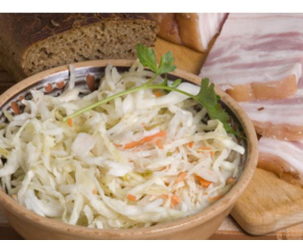 Рецепт                  Салат из капусты с яблоками