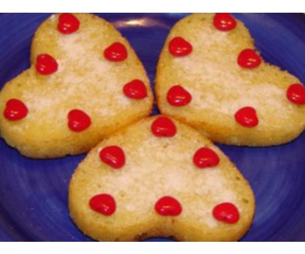 Рецепт                  Лимонные сердечки