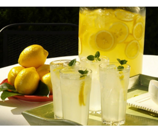 Рецепт                  Морс из лимона