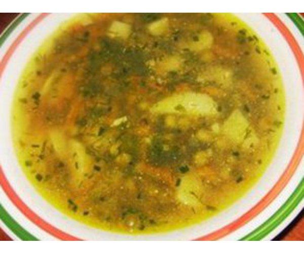 Рецепт                  Гречневый суп