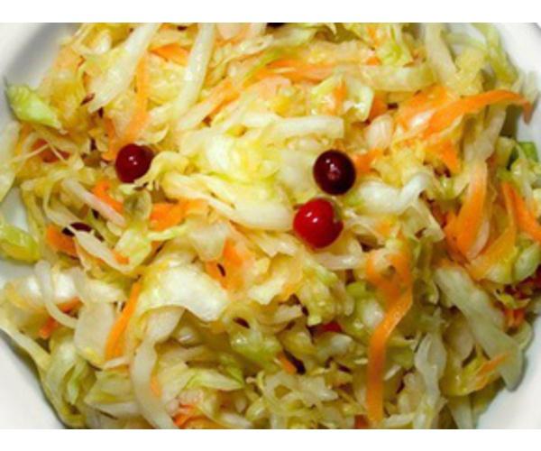 Рецепт                  Квашеная капуста с морковью