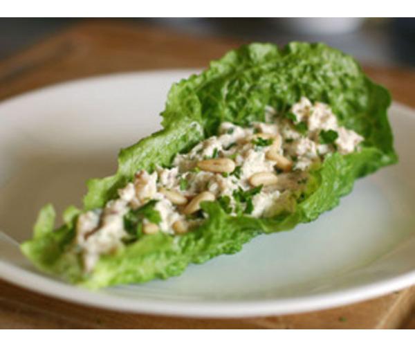 Рецепт                  Салат из тунца с сельдереем