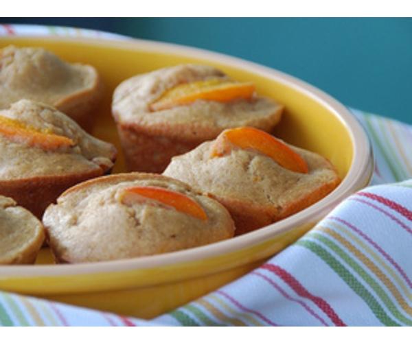 Рецепт                  Маффины с абрикосами и орехами