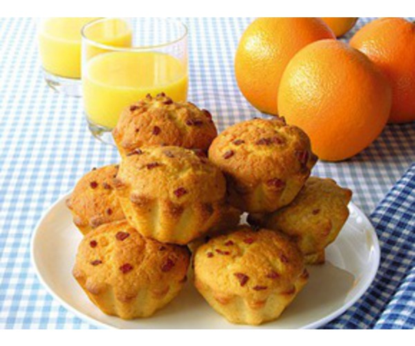 Рецепт                  Апельсиновые кексы