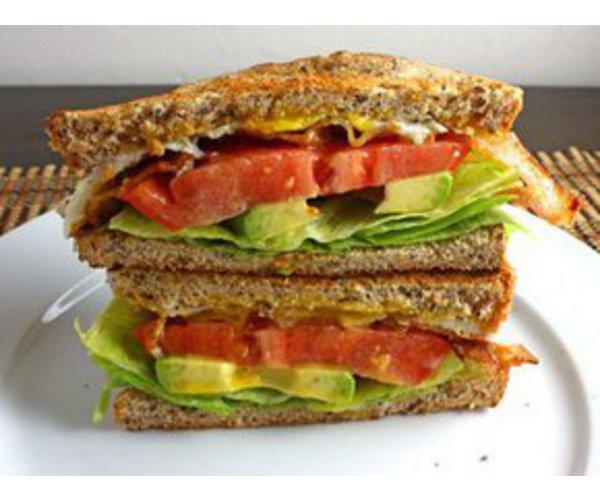 Рецепт                  Бутерброд с арахисовым маслом и беконом