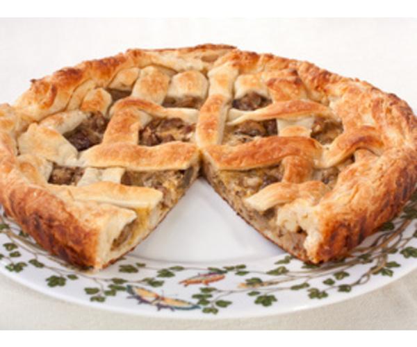 Рецепт                  Грибной пирог