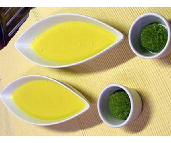 Рецепт                  Суп-пюре из кукурузы