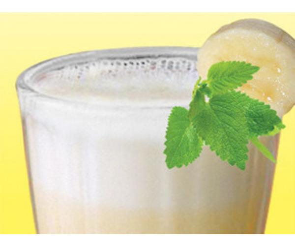 Рецепт                  Банановый молочный коктейль