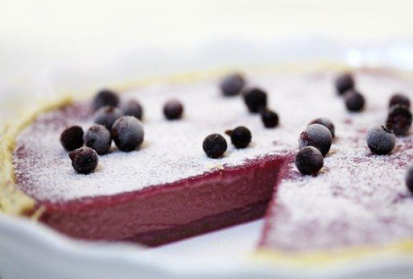 Рецепт                  Пирог из черной смородины