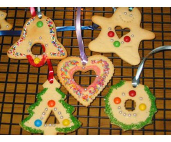 Рецепт                  Печенье на елку