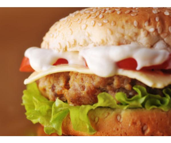 Рецепт                  Готовим гамбургер