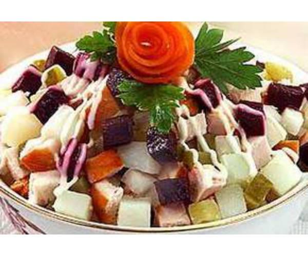 Рецепт                  Неаполитанский салат