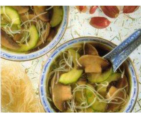 Рецепт                  Китайский грибной суп