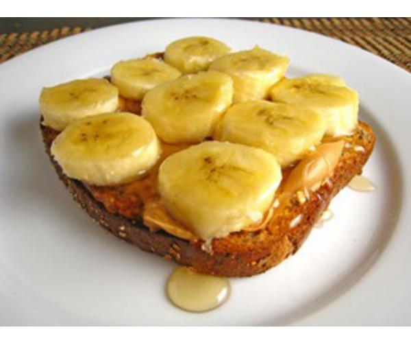 Рецепт                  Сэндвич с медом и бананами