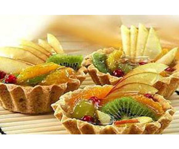 Рецепт                  Корзиночки с фруктами