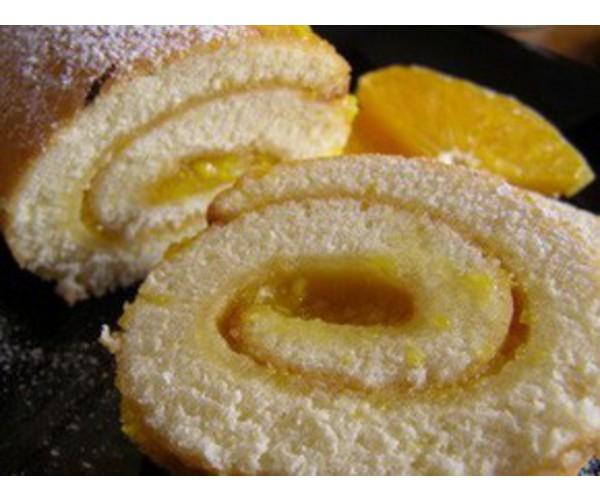 Рецепт                  Апельсиновый рулет