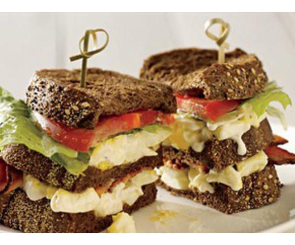 Рецепт                  Бутерброд с бужениной и яйцом