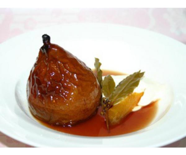 Рецепт                  Груши с медом