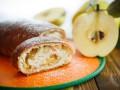 Как приготовить дрожжевой рулет с яблоками (видео)
