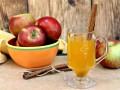 Сидр из яблок с корицей