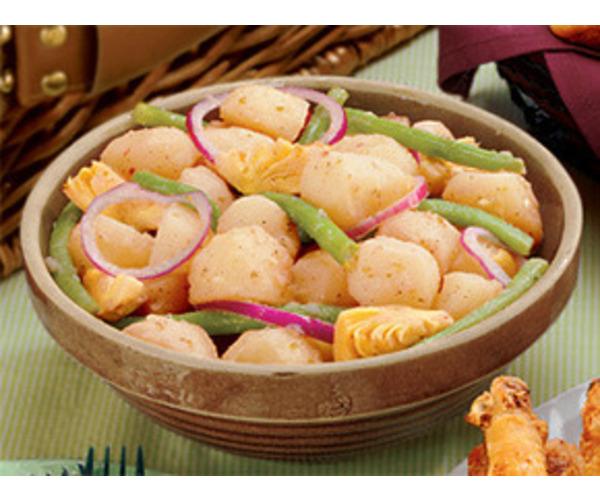 Рецепт                  Картофельный салат с оливковым маслом