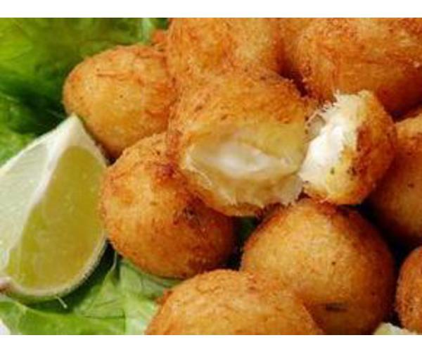 Рецепт                  Рыбно-картофельные пончики