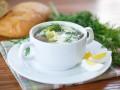 Весенний суп из щавеля