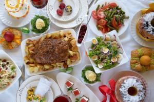Пасхальный стол должен быть ярким, нарядным и аппетитным