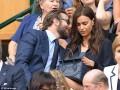Ирина Шейк и Брэдли Купер посетили теннисный матч на Уимблдоне