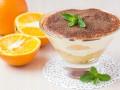 Десерты на Новый год: Тирамису с апельсинами