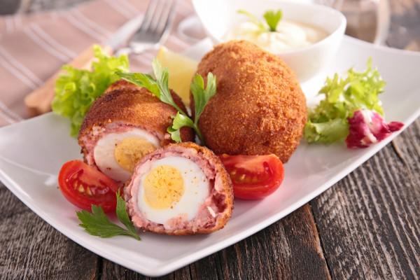 Рецепт                  Яйца по-шотландски: Рецепт