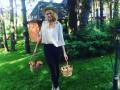Оля Полякова рассказала, что помогает ей поддерживать фигуру