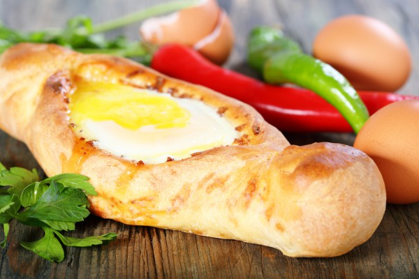 Рецепт                  Аджарские хачапури