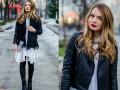 Мода 2015: Стильные образы с косухами