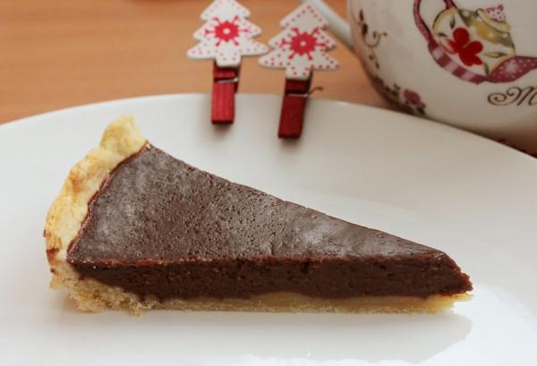 Рецепт                  Шоколадный тарт: Рецепт приготовления