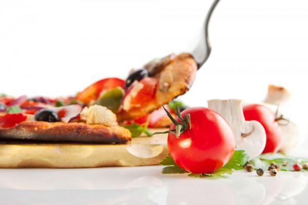 Рецепт                  Постная пицца с грибами и помидорами
