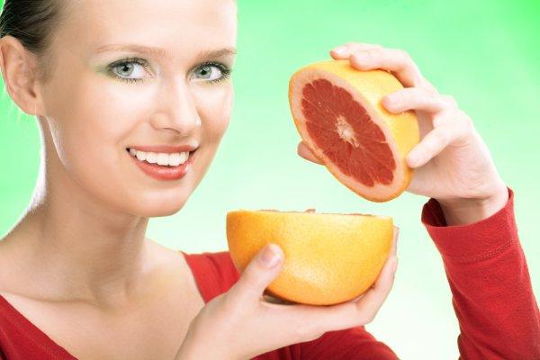 Аромат грейпфрута подымает нам настроение и делает моложе в глазах окружающих