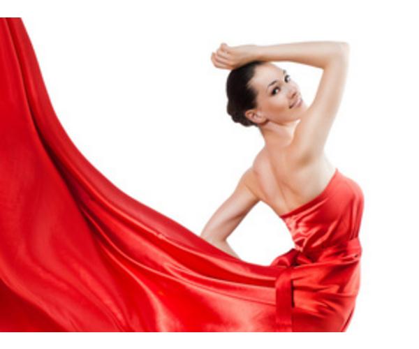 Девушки в красном привлекают мужчин