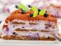 Десерты на Новый год: Тирамису с черникой