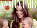 Кейт Миддлтон с супругом и сыном украсила обложку Vanity Fair