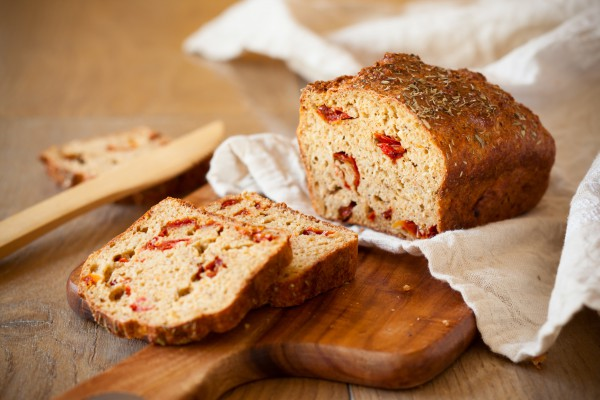Рецепт                  Домашний хлеб с запеченным перцем