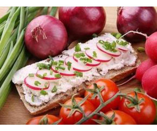 Рецепт                  Бутерброды с редисом