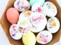 Как украсить пасхальные яйца переводными картинками