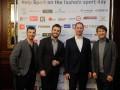 Дмитрий Ступка и Григорий Решетник посетили показ спортивной коллекции
