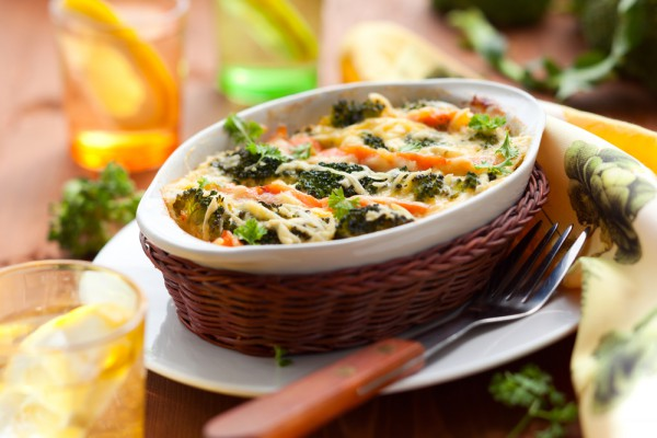 Рецепт                  Запеканка с брокколи