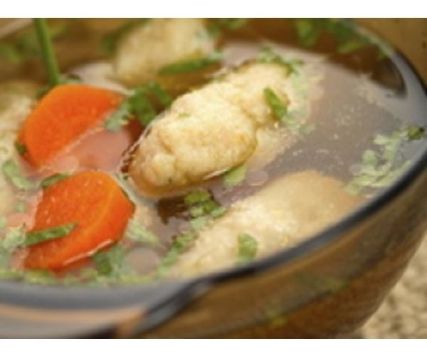 Рецепт                  Овощной суп с клецками