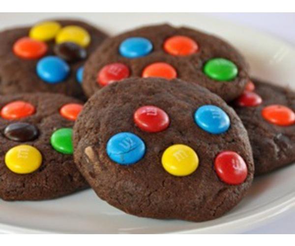 Рецепт                  Шоколадное печенье с M&M's
