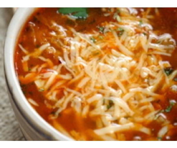 Рецепт                  Пряный томатный супчик