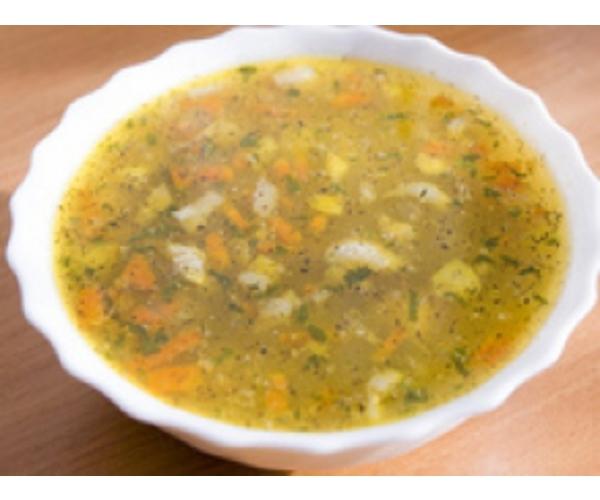 Рецепт                  Суп с зеленым горошком