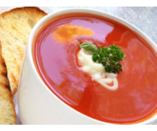 Рецепт                  Нежный томатный суп-пюре